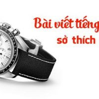 Bai viet tieng anh ve so thich suu tam dong ho